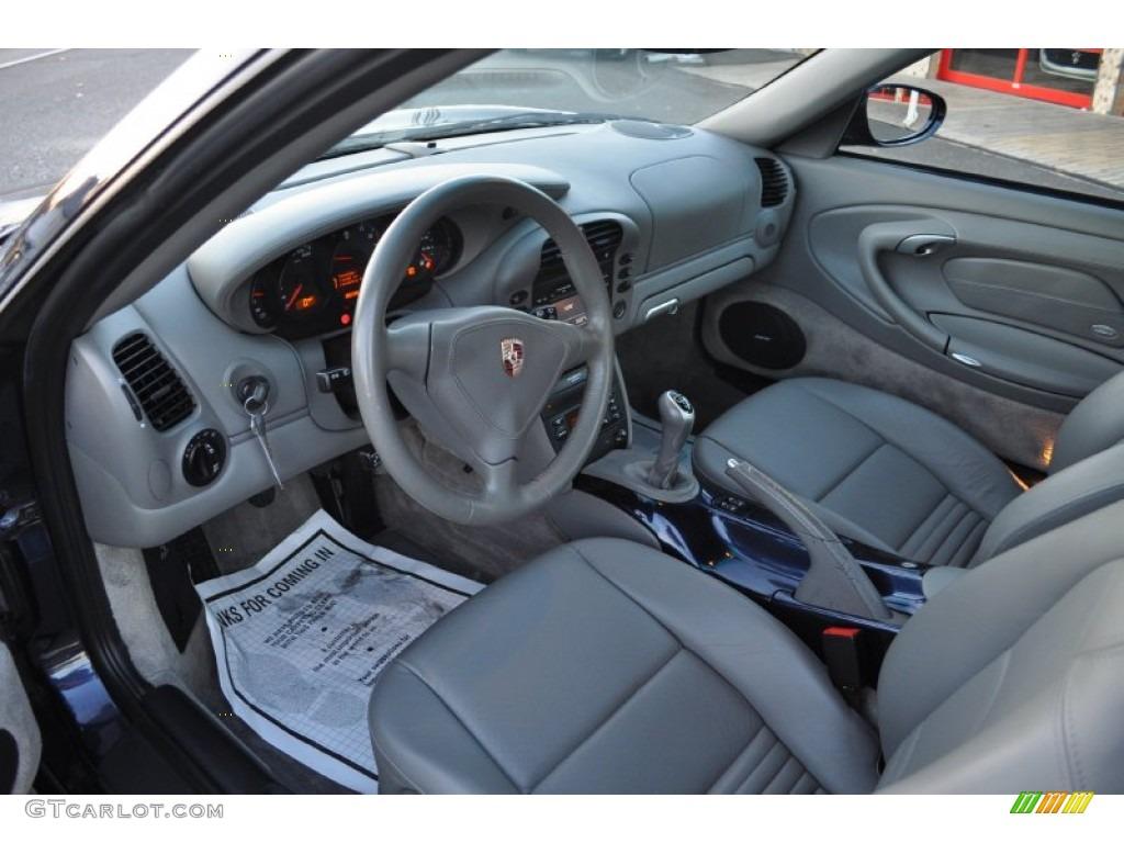 Graphite Grey Interior 2002 Porsche 911 Turbo Coupe Photo 56849648 Gtcarlot Com