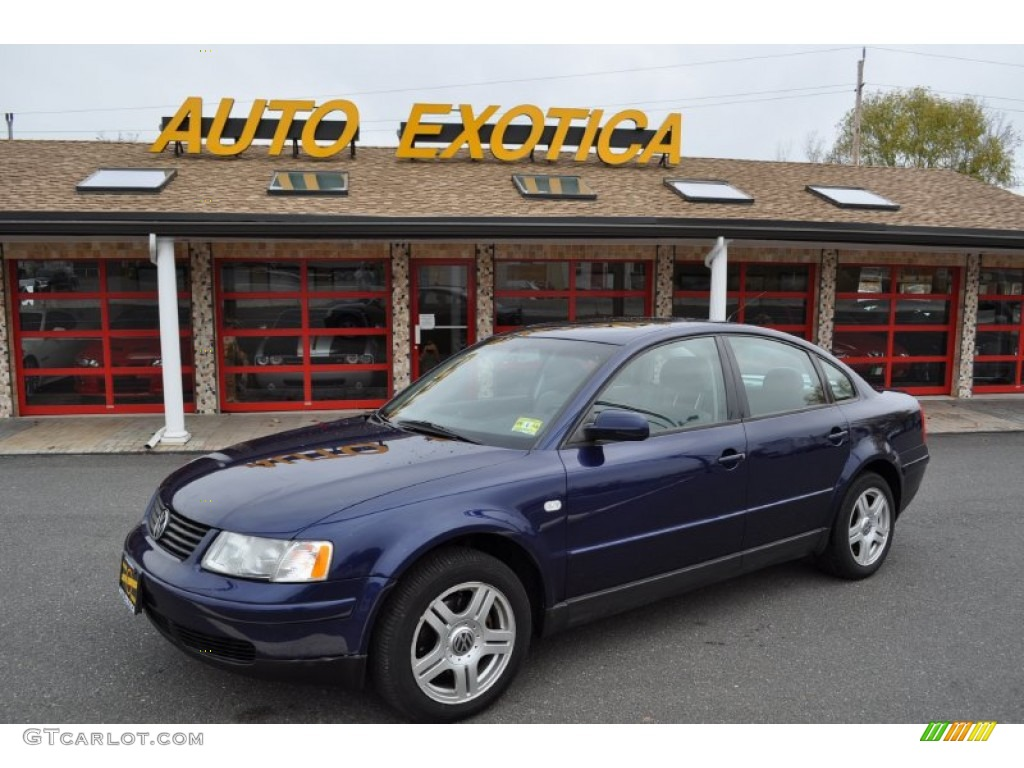2001 Indigo Blue Pearl Volkswagen Passat GLX V6 4Motion Sedan #56828039 Photo #11   GTCarLot.com ...