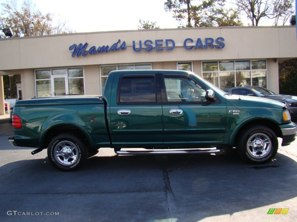 2001 ford f150 lariat supercrew amazon green metallic color medium. Cars Review. Best American Auto & Cars Review
