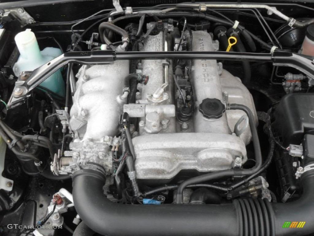 2003 Mazda MX-5 Miata LS Roadster 1.8L DOHC 16V VVT 4 Cylinder Engine Photo #56859659 | GTCarLot.com