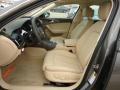 Drivers Seat in Velvet Beige