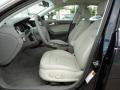 Light Gray 2012 Audi A4 Interiors