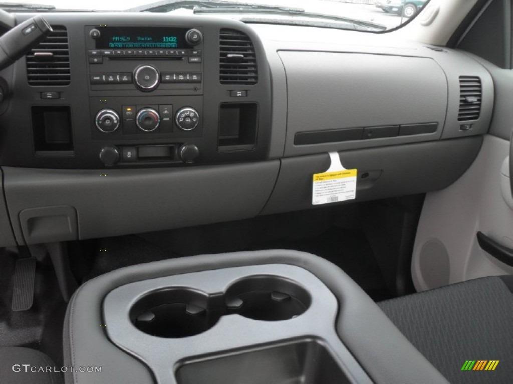 2012 Silverado 1500 Work Truck Extended Cab - Summit White / Dark Titanium photo #15