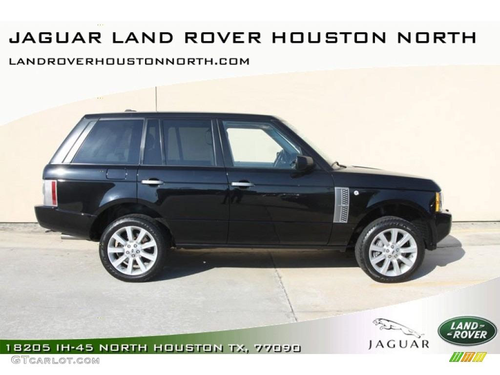 2007 Range Rover Supercharged - Java Black Pearl / Sand Beige photo #1