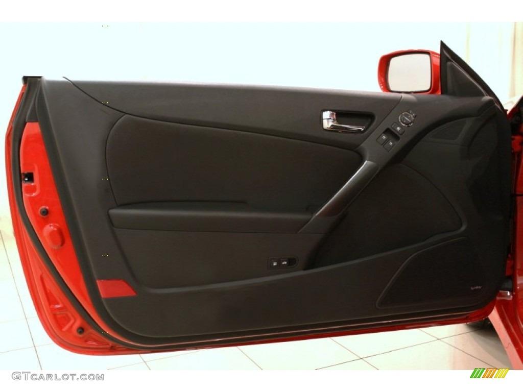 2011 hyundai genesis coupe 3 8 track door panel photos. Black Bedroom Furniture Sets. Home Design Ideas