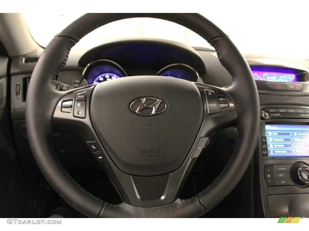2011 hyundai genesis coupe 3 8 track steering wheel photos. Black Bedroom Furniture Sets. Home Design Ideas