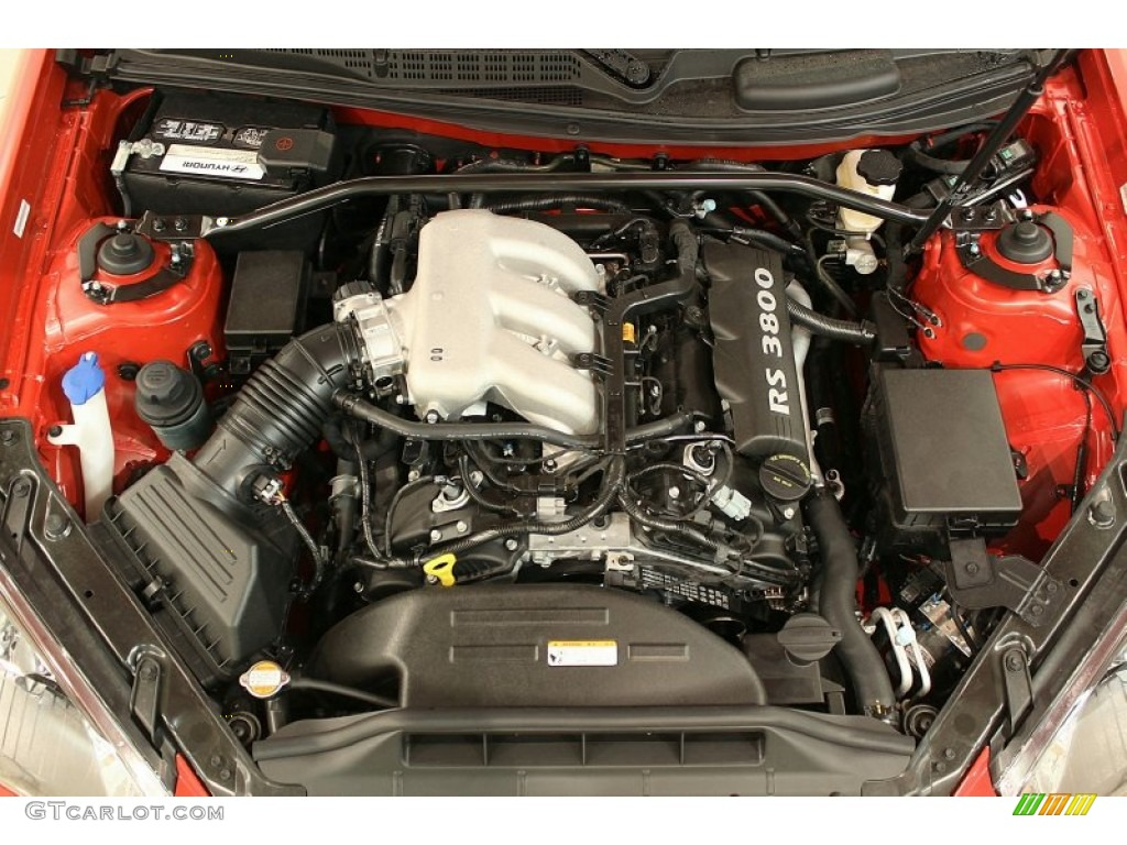 2011 Hyundai Genesis Coupe 3 8 Track Engine Photos