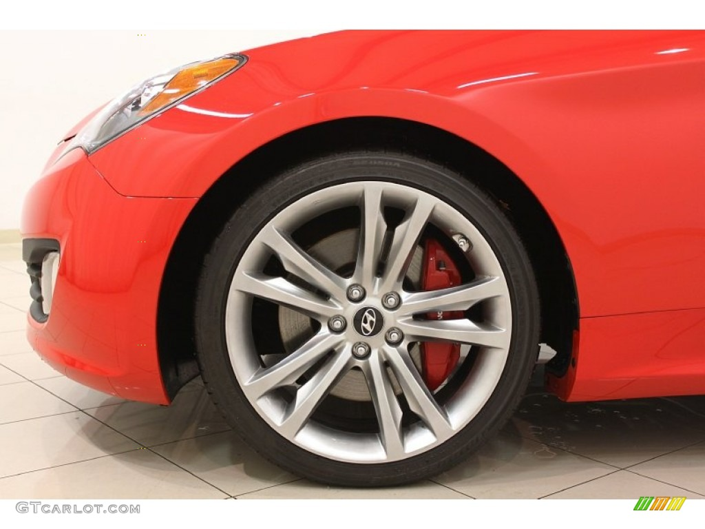 2011 Hyundai Genesis Coupe 3 8 Track Wheel Photo 56866208