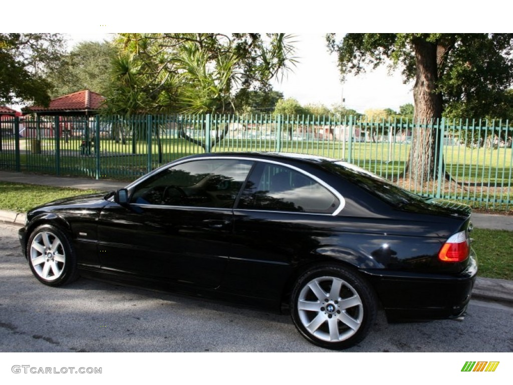Jet black 2003 bmw 3 series 325i coupe exterior photo 56871890