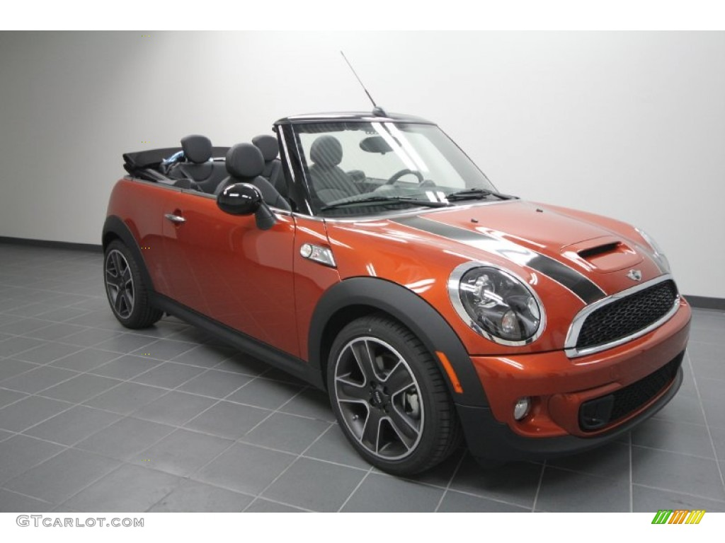 2012 spice orange metallic mini cooper s convertible 56873955 car color galleries. Black Bedroom Furniture Sets. Home Design Ideas