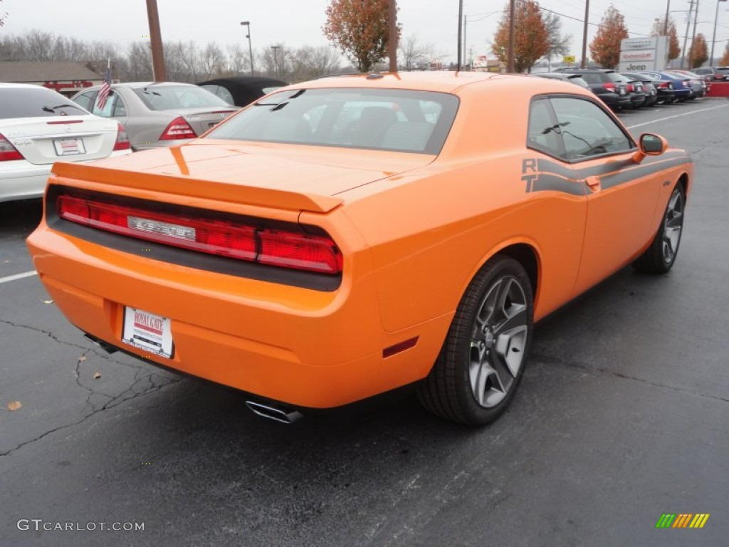 header orange 2012 dodge challenger r t classic exterior. Black Bedroom Furniture Sets. Home Design Ideas