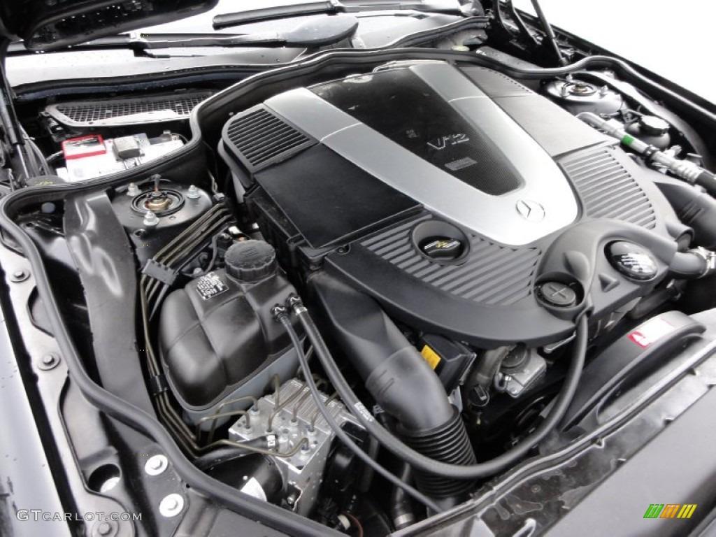2005 mercedes benz sl 600 roadster 5 5 liter twin for Mercedes benz v12 engine