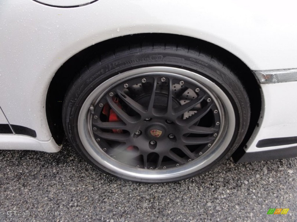 2007 Porsche 911 GT3 Custom Wheels Photos