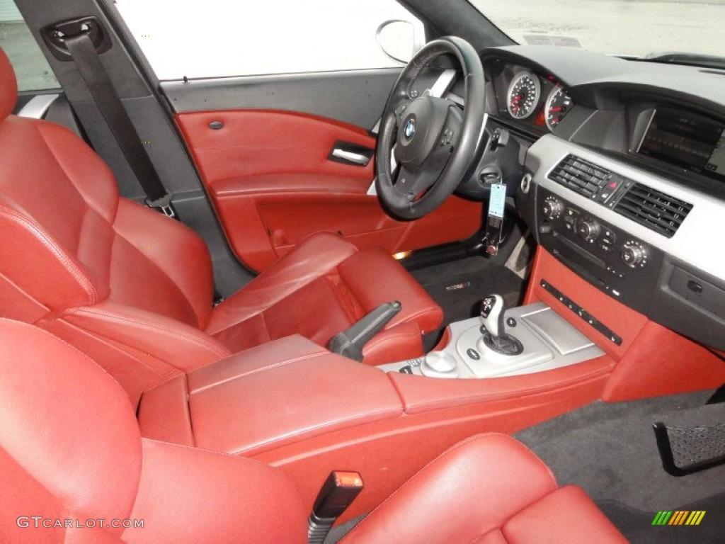 Indianapolis Red Interior 2006 BMW M5 Standard M5 Model ...