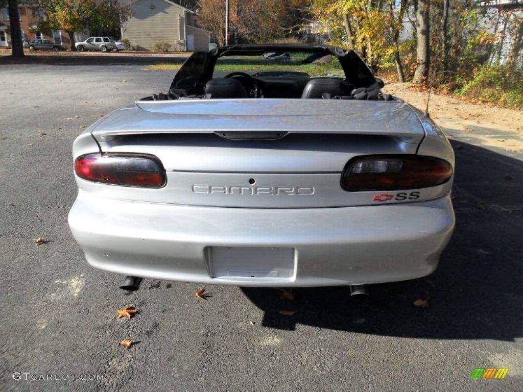 Sebring Silver Metallic 2002 Chevrolet Camaro Z28 SS Convertible ...