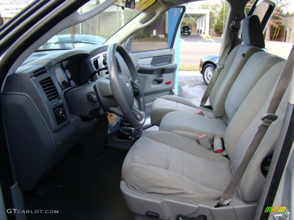 Medium Slate Gray Interior 2008 Dodge Ram 1500 Big Horn Edition Quad Cab Photo 56912797