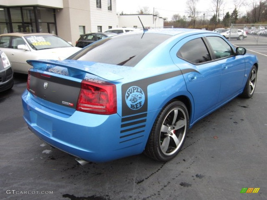 b5 blue pearl 2008 dodge charger srt 8 super bee exterior. Black Bedroom Furniture Sets. Home Design Ideas