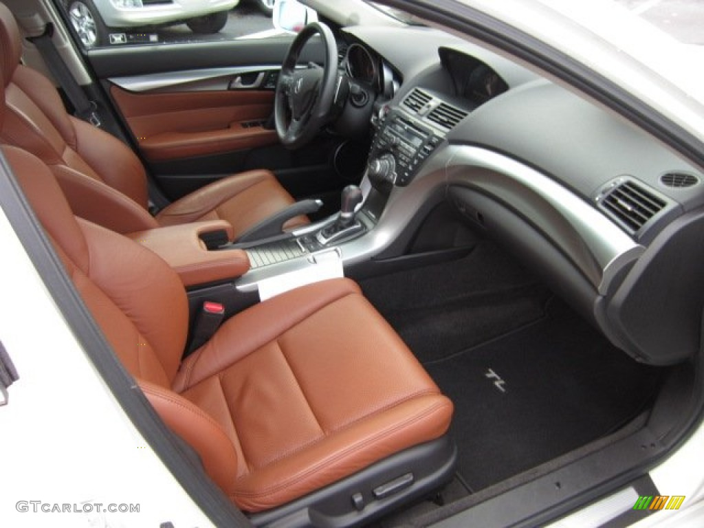 Umber Brown Interior 2010 Acura TL 3.7 SH-AWD Technology Photo #56917444 | GTCarLot.com