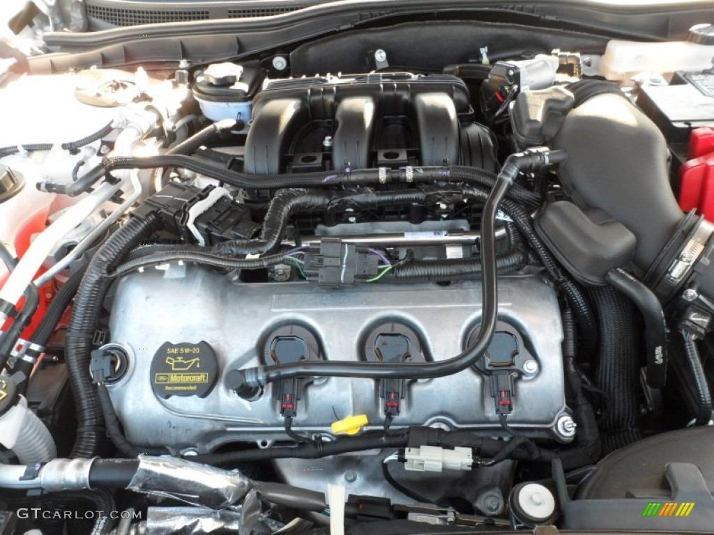 2012 ford fusion sport 3 5 liter dohc 24 valve vvt duratec. Black Bedroom Furniture Sets. Home Design Ideas