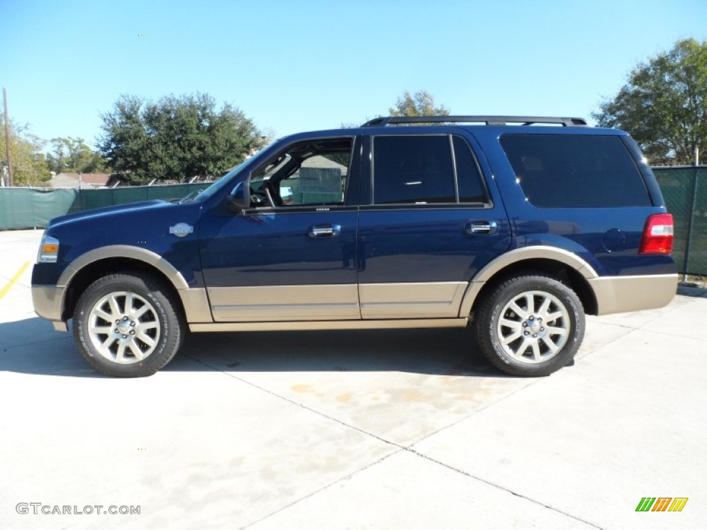 Dark Blue Pearl Metallic 2012 Ford Expedition King Ranch Exterior Photo 56921551