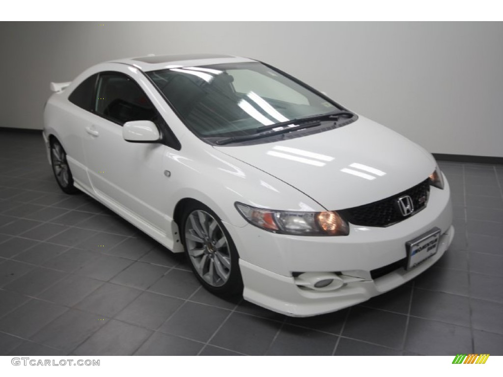2009 taffeta white honda civic si coupe 56935375 for Honda civic si white