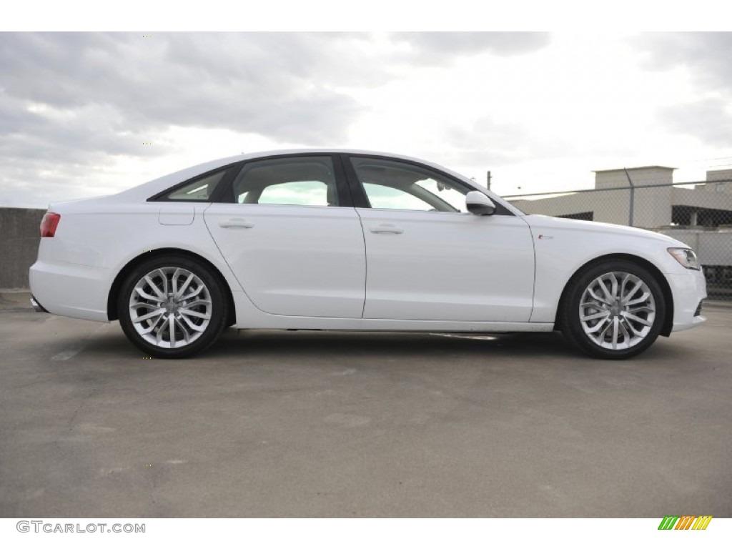 ibis white 2012 audi a6 3 0t quattro sedan exterior photo 56941727. Black Bedroom Furniture Sets. Home Design Ideas