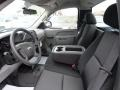 2012 Blue Granite Metallic Chevrolet Silverado 1500 Work Truck Regular Cab 4x4  photo #4