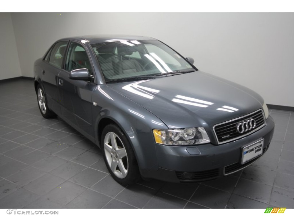 2003 dolphin gray pearl audi a4 1 8t quattro sedan. Black Bedroom Furniture Sets. Home Design Ideas