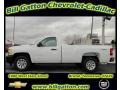 2012 Summit White Chevrolet Silverado 1500 Work Truck Regular Cab 4x4  photo #1