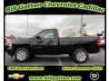 2012 Black Chevrolet Silverado 1500 Work Truck Regular Cab  photo #1