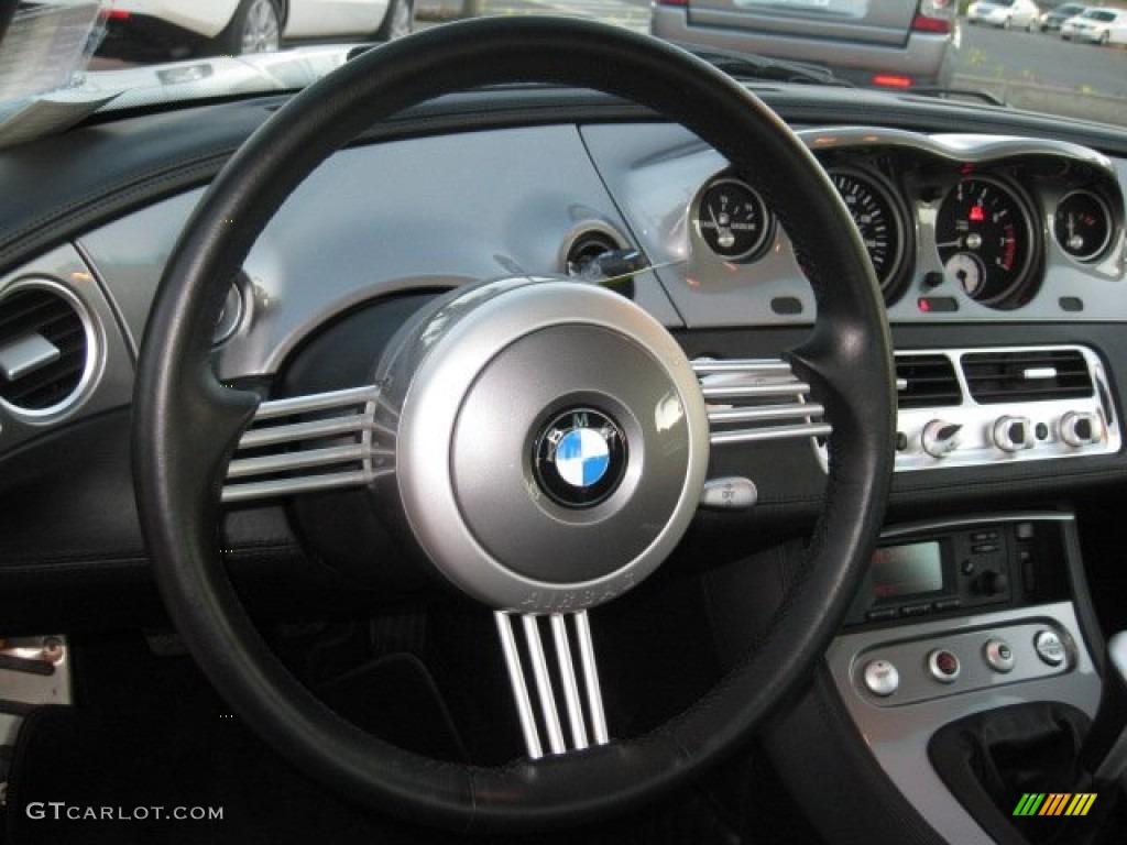 2001 Bmw Z8 Roadster Black Steering Wheel Photo 56946725