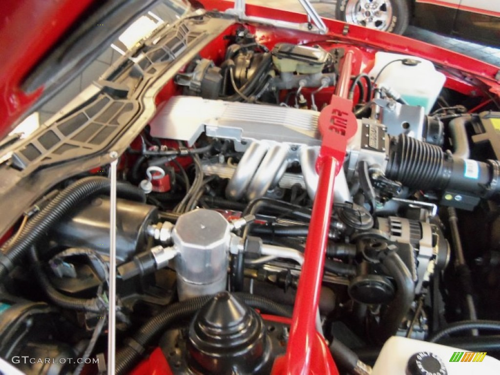 1987 Chevrolet Camaro IROC Z Sport Coupe Engine Photos