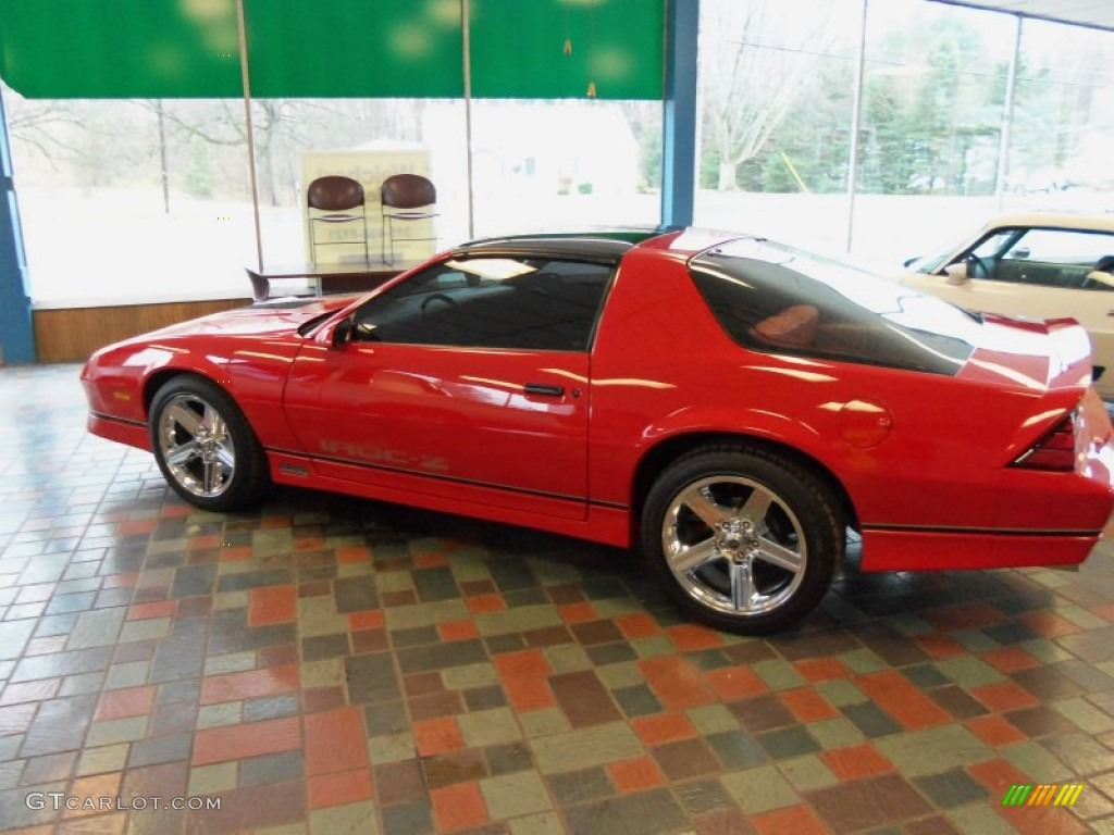 1987 Bright Red Chevrolet Camaro Iroc Z Sport Coupe 56935108 Photo 43