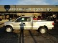 Ingot Silver Metallic - F150 XL SuperCab Photo No. 1
