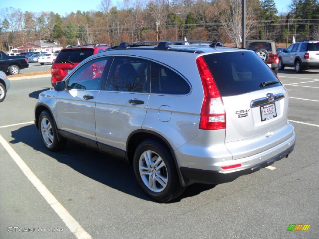 2010 CR-V EX - Alabaster Silver Metallic / Black photo #3