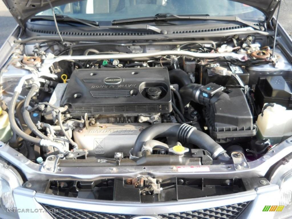 2003 mazda protege mazdaspeed 2 0 liter turbocharged dohc 16 valve 4 cylinder engine photo