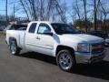 2012 Summit White Chevrolet Silverado 1500 LT Extended Cab 4x4  photo #2
