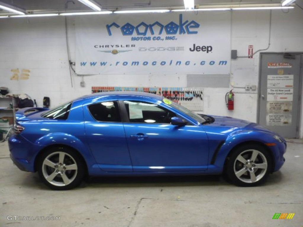 2004 winning blue metallic mazda rx 8 sport 56980743 car color galleries. Black Bedroom Furniture Sets. Home Design Ideas