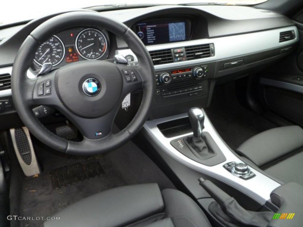 2010 Bmw 3 Series 335i Coupe Black Dashboard Photo