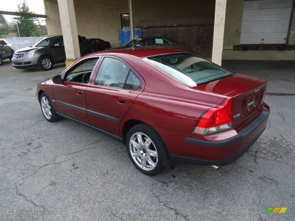 ruby red metallic 2004 volvo s60 2 5t awd exterior photo. Black Bedroom Furniture Sets. Home Design Ideas