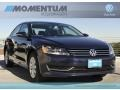 Night Blue Metallic 2012 Volkswagen Passat 2.5L S