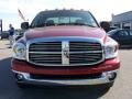 2008 Inferno Red Crystal Pearl Dodge Ram 3500 Big Horn Edition Quad Cab Dually  photo #8