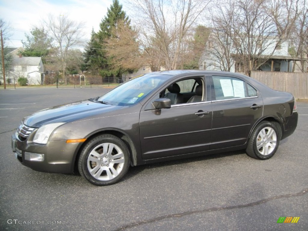 2006 charcoal beige metallic ford fusion sel v6 #57001533