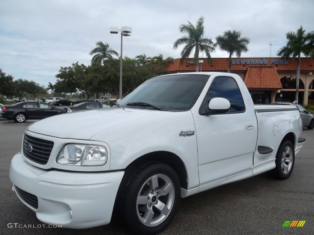 1996 Ford Lightning Specs >> Oxford White 2001 Ford F150 SVT Lightning Exterior Photo #57016724 | GTCarLot.com