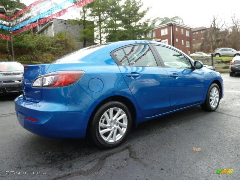Sky blue mica 2012 mazda mazda3 i touring 4 door exterior for Mazda 3 exterior colors