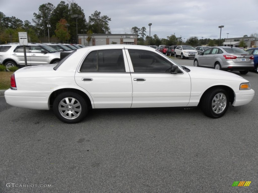vibrant white 2008 ford crown victoria lx exterior photo. Black Bedroom Furniture Sets. Home Design Ideas