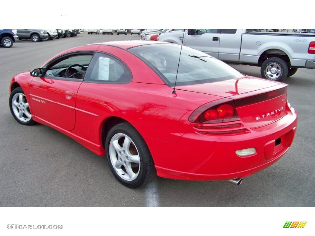 Indy Red 2001 Dodge Stratus R/T Coupe Exterior Photo #57021248 ...