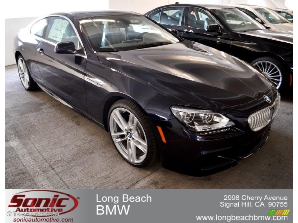 2012 Carbon Black Metallic Bmw 6 Series 650i Coupe