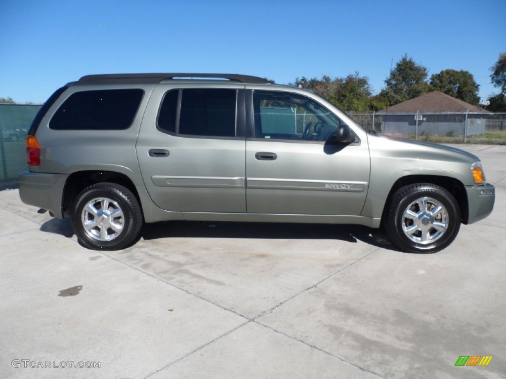 silver green metallic 2004 gmc envoy xl sle exterior photo. Black Bedroom Furniture Sets. Home Design Ideas