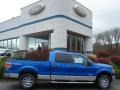 2012 F150 XLT SuperCrew 4x4 Blue Flame Metallic